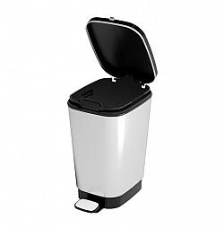 KIS CHIC 57454 odpadkový koš 10L - stříbrný