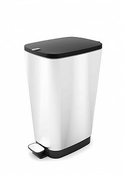 KIS CHIC 57456 odpadkový koš 35L - stříbrný