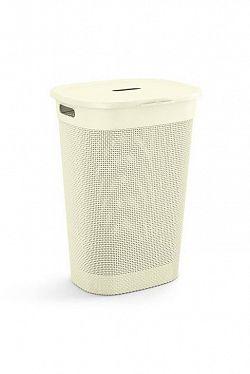 KIS FILO Plastový koš na prádlo - krémová