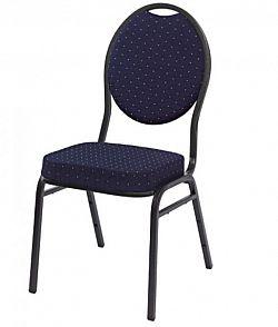 Monza ABC01147 kvalitní židle kovová - modrá