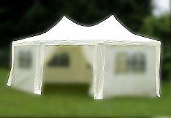 Náhradní střecha na zahradní stan 6 x 4,4 x 3,3 m - krémová* KK-729