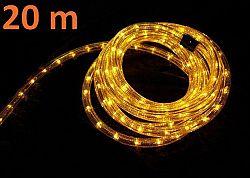 Nexos 1054 Světelný kabel 20 m - žlutá, 720 minižárovek