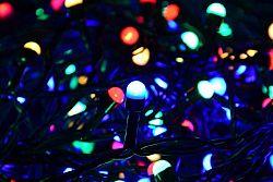 Nexos 28708 Vánoční LED osvětlení 20 m - barevné, 200 MAXI LED diod