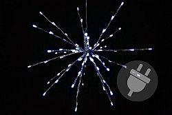 Nexos 33224 Vánoční osvětlení - meteorický déšť - studená bílá, 80 LED, 40 cm