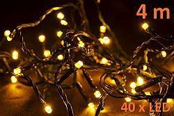 Nexos 5953 Vánoční LED osvětlení 4m - teple bílá, 40 diod