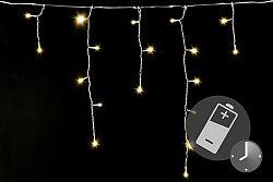 Nexos Trading GmbH & Co. KG D41714 Vánoční světelný déšť 144 LED teple bílá - 5 m s časovačem