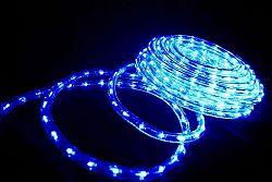 OEM D00553 LED světelný kabel 20 m - modrá, 480 diod