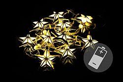 OEM D39404 Vánoční LED osvětlení Hvězdy teple bílé, 10 LED