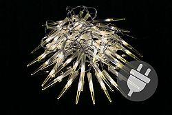 OEM Vánoční dekorativní osvětlení - rampouchy - 60 LED teple bílá D05959