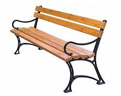 ROJAPLAST Parková lavice s područkami FSC 243/1