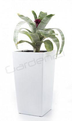 Samozavlažovací květináč G21 Linea small bílý 55cm