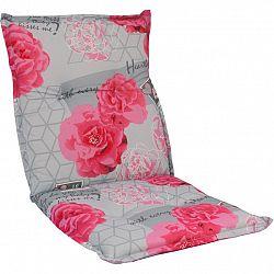 sun garden 54712 Sedák na nízké křeslo NAXOS NIEDRIG květy 30367-340