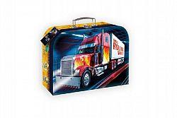 Teddies 59583 Šitý kufr/kufřík truck kamion 25x19cm