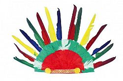 Teddies karneval 48470 Indiánská čelenka 60x35cm v sáčku