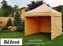 Tradgard PROFI STEEL 56928 Zahradní párty stan 3 x 4,5 - béžová