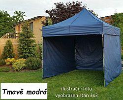 Tradgard PROFI STEEL 57108 Zahradní párty stan 3 x 6 - tmavě modrá