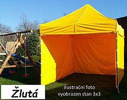Tradgard PROFI STEEL 57122 Zahradní párty stan 3 x 6 - žlutá