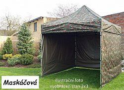 Tradgard PROFI STEEL 57123 Zahradní párty stan 3 x 6 - maskáčová