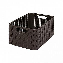 úložný STYLE BOX - M- hnědý CURVER
