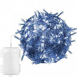 Vánoční LED osvětlení 10 m - studená bílá 100 LED BATERIE