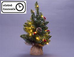 Vánoční stromek s osvětlením - 90 cm, 50 LED