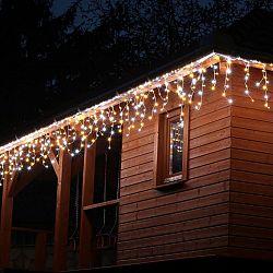 VOLTRONIC světelný déšť - 400 LED, teplá/studená bílá