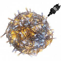 VOLTRONIC® 67591 Vánoční řetěz - 5 m, 50 LED, teple/studeně bílý