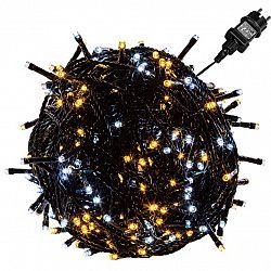 VOLTRONIC® 67596 Vánoční řetěz - 20 m, 200 LED, teple/studeně bílý