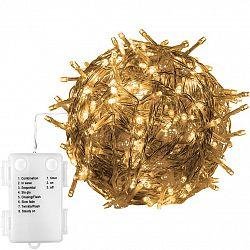 VOLTRONIC® 67684 Vánoční řetěz - 20 m, 200 LED, teple bílý, na baterie