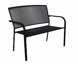 WOOD 54564 Zahradní lavice kovová ZWMC-D19 - pro dvě osoby