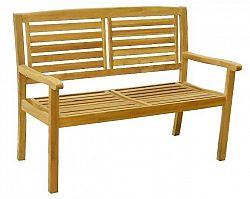 Zahradní dřevěná lavice KRISTINA - 121 cm