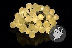 Zahradní párty osvětlení - venkovní, 50 LED, teple bílá D39767