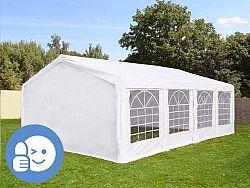 Zahradní párty stan ECONOMY 5 x 8 m - bílá