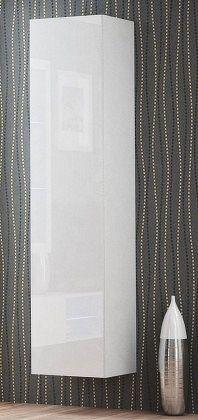 Livo - Závěsná skříňka 180 (bílá mat/bílá lesk)