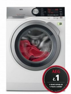 Pračka s předním plněním AEG SoftWater L9FEC49SC, A, 9 kg