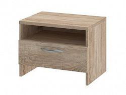 UNO - Noční stolek, typ NS (dub bardolino)