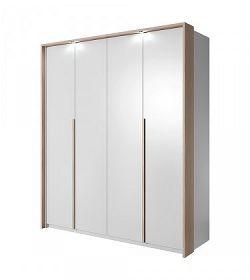 Xelo - Skříň 185x215,5x65 cm bílá
