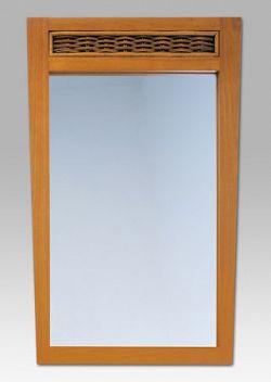 ATHENA zrcadlo v medové barvě PO203 HO