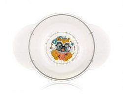 BANQUET  Dětská plastová miska   175x124x59 mm, motiv: OWL