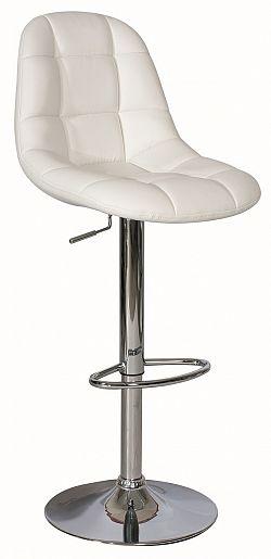 Barová židle KROKUS C-198 krémová