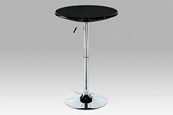 Barový stůl výškově nastavitelný černý AUB-5010 BK