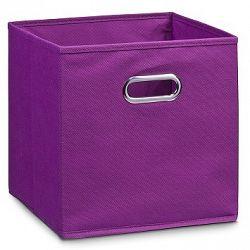 Box úložný flísový fialový E357