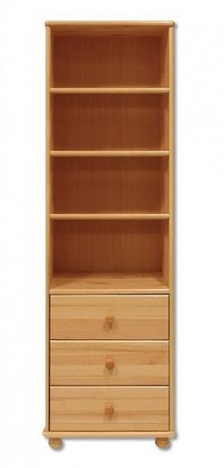 Dřevěný praktický regál typ WK128 KN095
