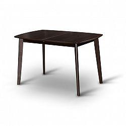 Jídelní rozkládací stůl v moderním dřevěném provedení wenge CHAN