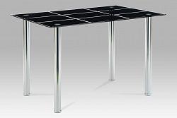 Jídelní stůl černé sklo  AT-1888 BK