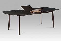 Jídelní stůl dřevěný rozkládací 180 x 100 cm dekor wenge BT-6820 BK