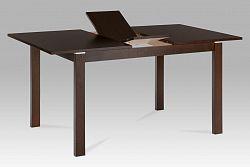 Jídelní stůl rozkládací 120+30x80 cm barva ořech BT-6777 WAL