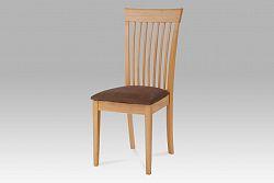 jídelní židle buk,potah světle hnědý YAC213S BUK