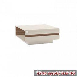 Konferenční stolek v luxusní bílé barvě ve vysokém lesku  TK026 TYP 70