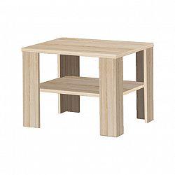 Konferenční stolek v moderním dekoru dub sonoma INTERSYS 21